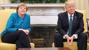 Amerikaner glauben an gute Beziehungen zu Deutschland