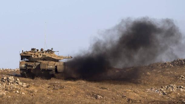 Israel greift mutmaßliche Chemiewaffen-Fabrik an