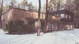 Haus aus 600 Tonnen Beton