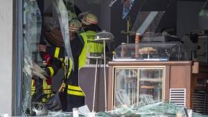 Vier Verletzte nach Explosion in Einkaufsstraße