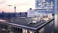 Flugtaxi: Sieht so die Zukunft aus?