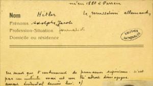 Adolphe, Jacob Hitler, Journalist
