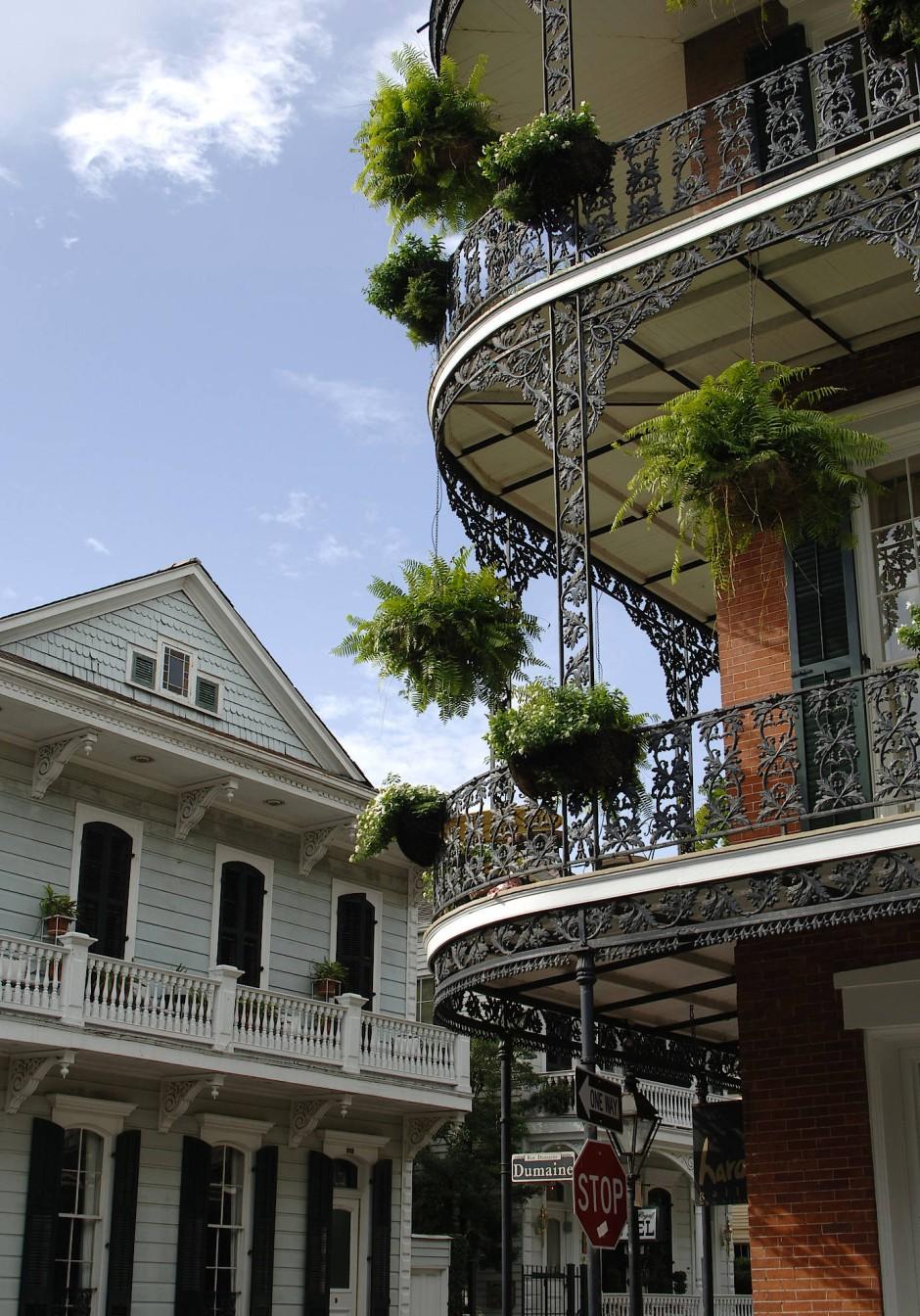 Die Seele von New Orleans, das French Quarter, verweigert sich seit dreihundert Jahren jedem Fortschritt.