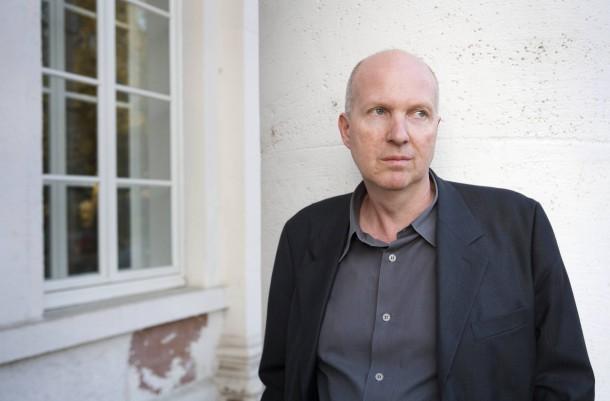 """Der belgisch-französische Autor Jean-Philippe Toussaint liest aus seinem neuen Roman """"Fliehen""""."""