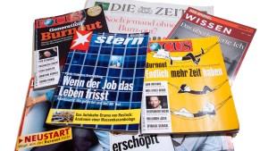 Die Magazinmacher leiden unter dem wahren Burnout