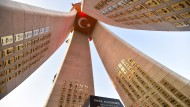 Das neue Denkmal für die Opfer des Militärputsches in Ankara.