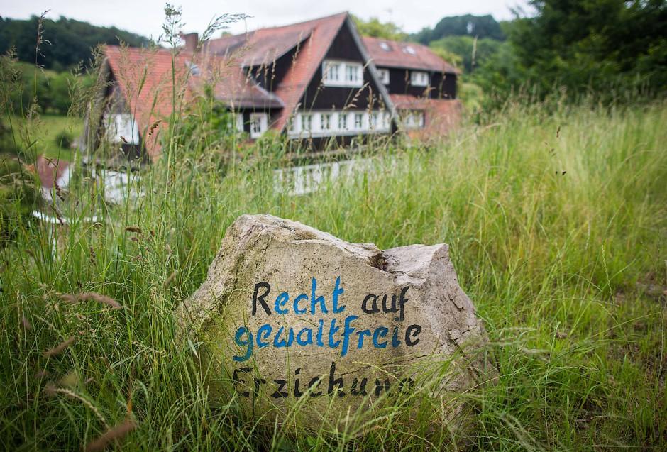 Abwicklung: Geschlossen wurde die Odenwaldschule erst im vergangenen Jahr. Das Inventar steht zum Verkauf.