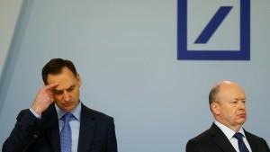 Was tun mit der Deutsche-Bank-Aktie?