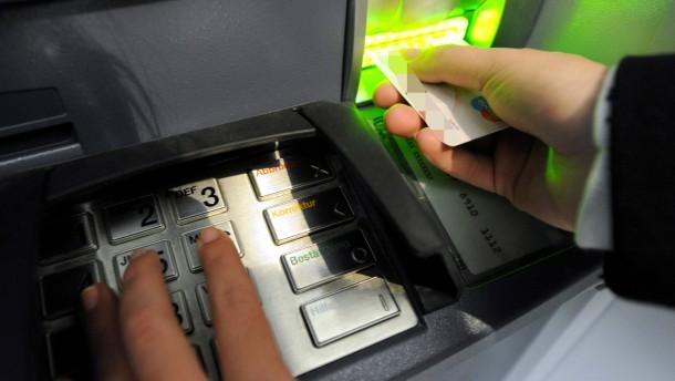 Sparkassen erschweren Geldabheben