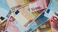 Euro-Banknoten: Gibt es reichlich