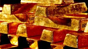 Der Goldpreis könnte hoch steigen