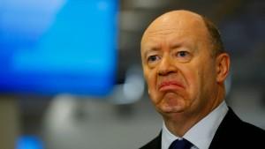 Deutsche Bank gefragt nach Bericht über Cryan-Ablösung
