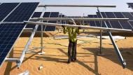 Solarenergie in Indien: Anlagen in erneuerbare Energien gewinnen für Versicherer an Bedeutung.