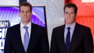 Milliardäre dank Bitcoin? Die Winklevoss-Zwillinge, Cameron (links) und Tyler, machen es scheinbar vor.