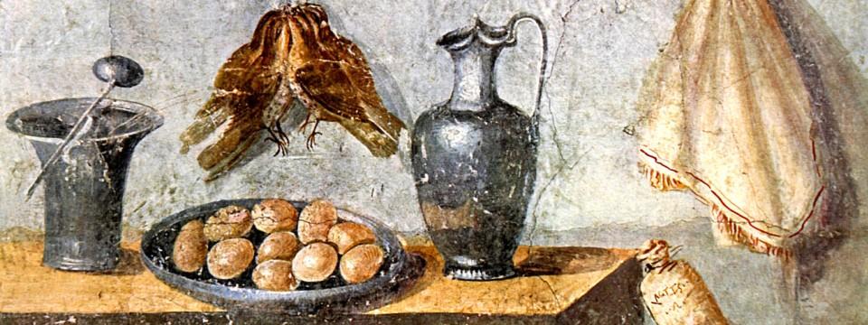 antik aufgetischt wandbild aus dem ersten jahrundert das in einem haus in der untergegangenen - Schmcken Kleine Wohnkche