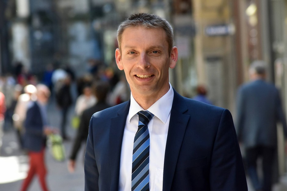 Markus Kremer, Umweltdezernent der Stadt Aachen