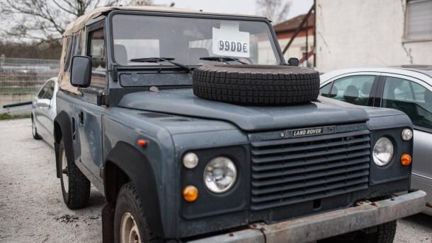 gebrauchtwagen land rover defender worauf man achten muss. Black Bedroom Furniture Sets. Home Design Ideas