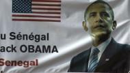 Obamas erste große Afrika-Reise: Auftakt im Senegal