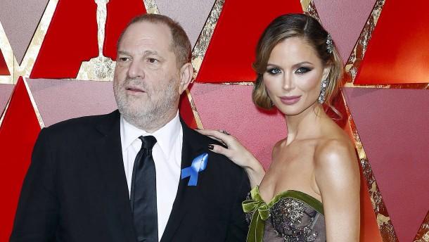 Weinsteins Frau steht Unterhalt in Millionenhöhe zu