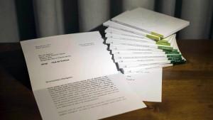 Vatikan manipuliert Brief von Benedikt XVI.