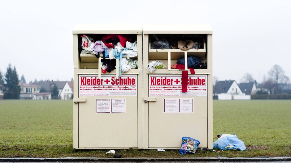 Guter Wille im Überfluss: Die Deutschen spenden gerne.