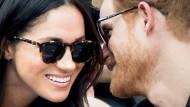 Scheinen von ihren finanziellen Schwierigkeiten noch nichts zu wissen: Prinz Harry und Schauspielerin Meghan Markle