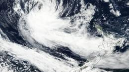 """Zyklon """"Gita"""" fegt über Neuseeland hinweg"""