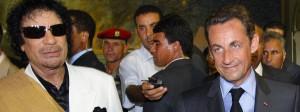 Juli 2007: Wenige Wochen nach Amtsantritt besucht Präsident Sarkozy den libyschen Machthaber Gaddafi