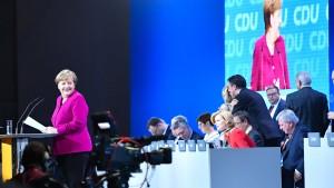 CDU stimmt mit großer Mehrheit für große Koalition