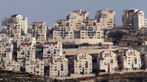 Israel genehmigt 2500 neue Siedlerwohnungen