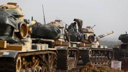 Türkei rückt weiter gegen Kurden vor – mit deutschen Panzern?