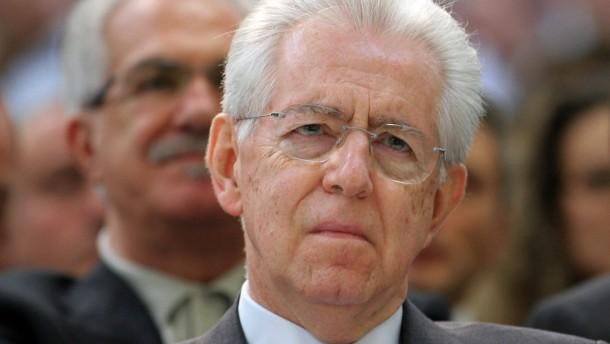 Monti soll offenbar für neues Zentrumsbündnis kandidieren