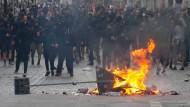 Eskaliert: Der schwarze Block während des G-20-Gipfels im Schanzenviertel