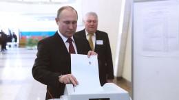 Russland bestätigt Putin mit über 70 Prozent im Amt