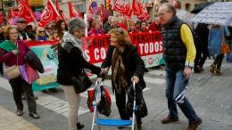 Rentner fordern höhere Bezüge
