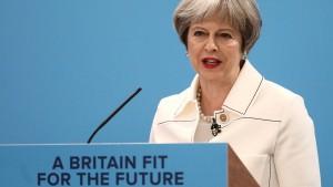 May: Dulden keine Bedrohung britischer Bürger