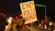 In der Nacht zu Samstag kam es abermals zu Ausschreitungen in der amerikanischen Kleinstadt Ferguson