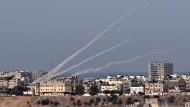 Attacke auf Israel: Vier Raketen, abgefeuert aus dem Gaza-Streifen