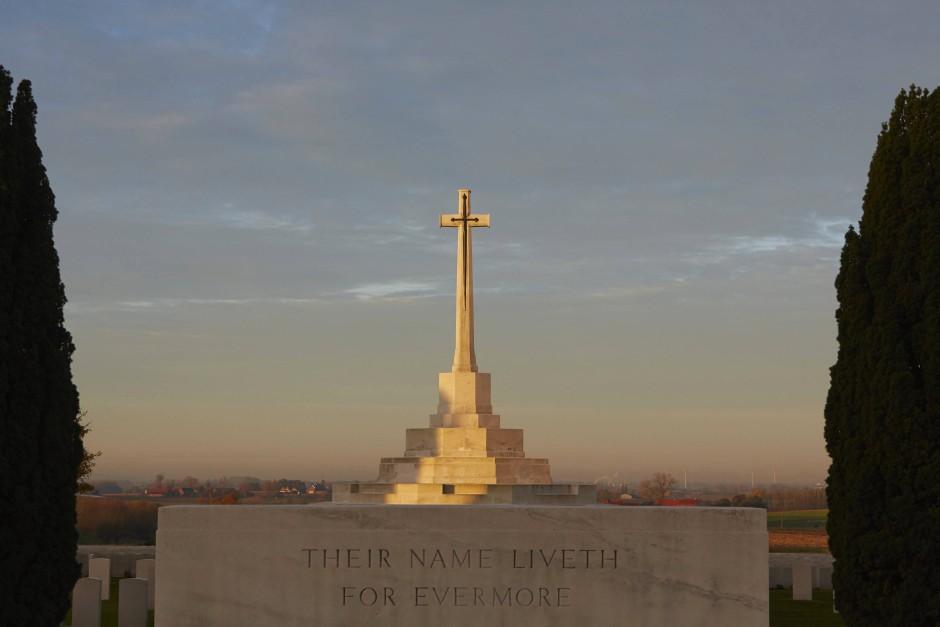 Das britische Mahnmal in Passendale erinnert an die Soldaten, die im Ersten Weltkrieg gefallen sind.