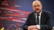 """Der SPD-Parteivorsitzende in der ZDF-Sendung """"Was nun, Herr Schulz?"""""""