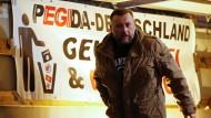 ?Pegida?-Mitbegründer Lutz Bachmann im Oktober 2015 in Dresden