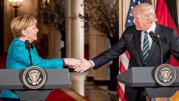 Merkel besucht Trump: Weißes Haus bestätigt Reise der Kanzlerin