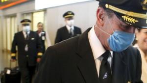 Fluggesellschaften sind in Alarmbereitschaft