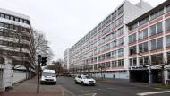 Nachbarn: Gegenüber vom Rechenzentrums-Betreiber Telehouse (rechts) sollen im Frankfurter Gallus 1500 Wohnungen entstehen (links)