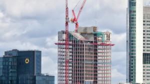 Der neue Taunusturm trägt Nadelstreifen