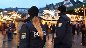 Feldmann: Sicherheitslage hat sich etwas beruhigt