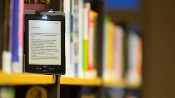 Büchereien kämpfen um E-Books
