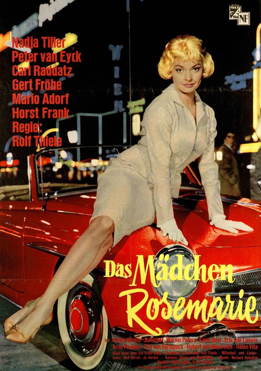 """Skandal: """"Das Mädchen Rosemarie"""" nach der Geschichte der Nitribitt hatte 1958 in Frankfurt Premiere."""