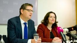 Schäfer-Gümbel: Nahles hat meine volle Unterstützung