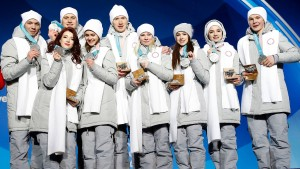 Olympischer Eiertanz